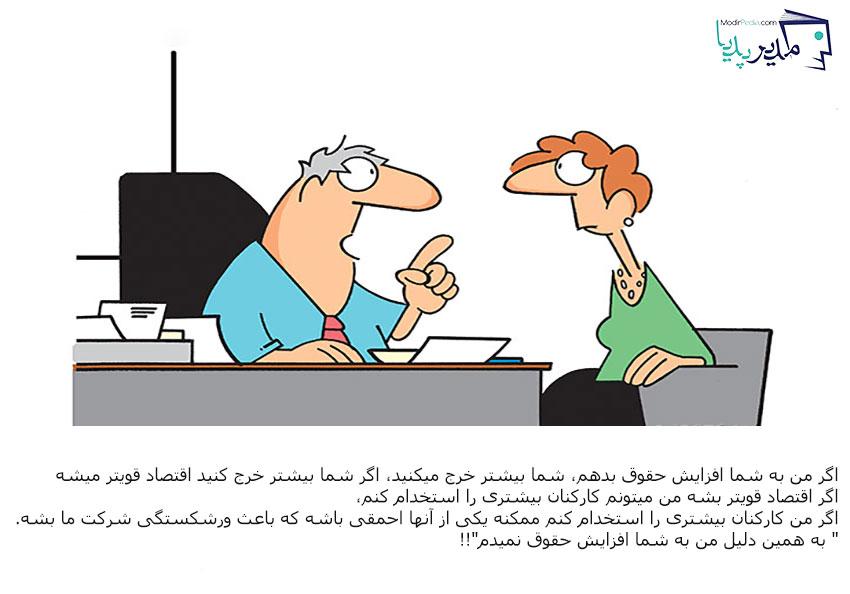 حقوق و دستمزد کارکنان